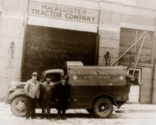 MacAllister Tractor Co 1943